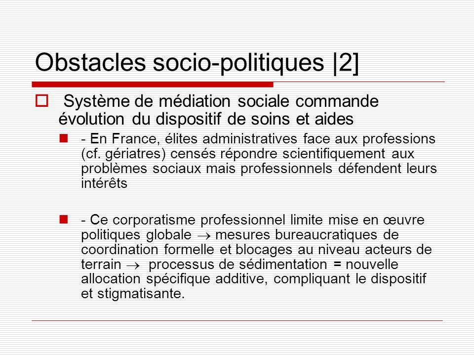 Obstacles socio-politiques |2]